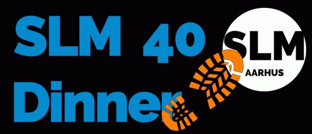 40 års middag SLM's 40 års Jubilæums Middag   Safeticket 40 års middag